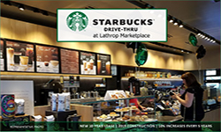 Starbucks at Lathrop Marketplace